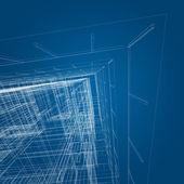 Architecture concept — Stock Photo