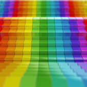 Rainbow pattern — Stockfoto