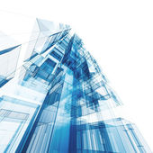 Arquitectura abstracta — Foto de Stock