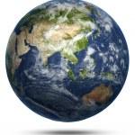 Asia and Australia world map — Stock Photo #36276897