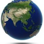 Asia world map — Stock Photo
