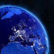Stock Photo: Europe from space