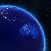 Australia and South-East Asia — Stock Photo
