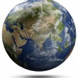 Stock Photo: Earth globe - Asia