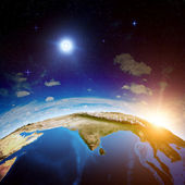 India from space — Stock Photo