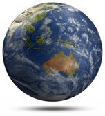 Earth globe - Australia and Oceania — Stock Photo