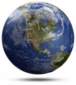 Earth globe - USA — Stock Photo