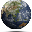 Stock Photo: Earth globe - Asiand Oceania