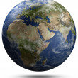 Earth globe - Africa, Europe and Asia — Stock Photo #39577833