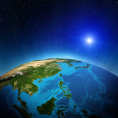 Oceania and South-East Asia — Stock Photo