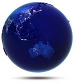 Australia, South-East Asia and Oceania — Stock Photo