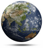 Earth globe - Asia and Oceania — Stock Photo