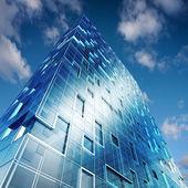 Vysoká budova — Stock fotografie