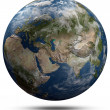 Stock Photo: Earth globe - Eurasia