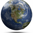 Earth globe - North America — Stock Photo #45462421