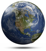 Earth globe - North America — Stock Photo