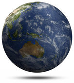 Earth globe - Australia and Pacific ocean — Stock Photo
