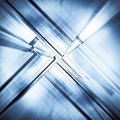 абстрактный туннель — Стоковое фото