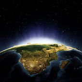 Afrika och madagaskar — Stockfoto