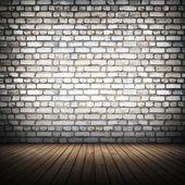 Brickwall interior — Foto de Stock