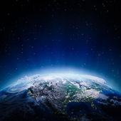 USA lights at night — Stock Photo