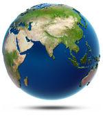 World map - Indian Ocean — Stock Photo