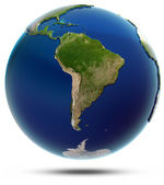 Planet Earth - South America — Stock Photo
