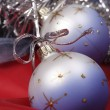 X-mas decorated bauble — Stock Photo #1474352