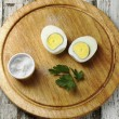 Boiled eggs — Stock Photo