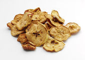 Heap of dried apples — Stock Photo