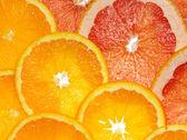 Orange and grapefruit — Stock Photo