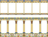Ancient Egypt gallery — Stock Vector