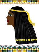 древний египет женщина — Cтоковый вектор