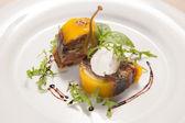 Delicious foie gras — Stock Photo