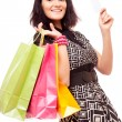 Woman with shopping bags — Stock Photo #13309700