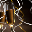 Stok fotoğraf: Pair glass of champagne