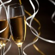 Pair glass of champagne — Stok fotoğraf