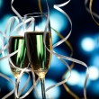 Pair glass of champagne — Stock Photo #14465407