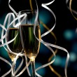 Pair glass of champagne — Stock Photo #14465701
