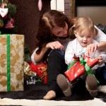 Christmas gifts — Stock Photo