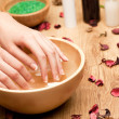 Spa for hands - Stockfoto