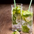 cocktail mojito — Stock Photo
