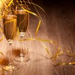 Flutes of champagne — Stock Photo #25510487