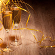 Flutes of champagne — Stock Photo #25521145