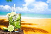 Coctail of Mojito — Stock Photo