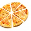 Four cheese pizza — Stock Photo #30426931
