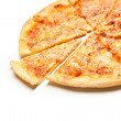 Four cheese pizza — Stock Photo #30427013