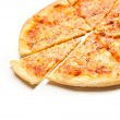 Four cheese pizza — Stock Photo
