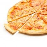 Four cheese pizza — Stock Photo