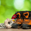 Hiking concept — Stock Photo